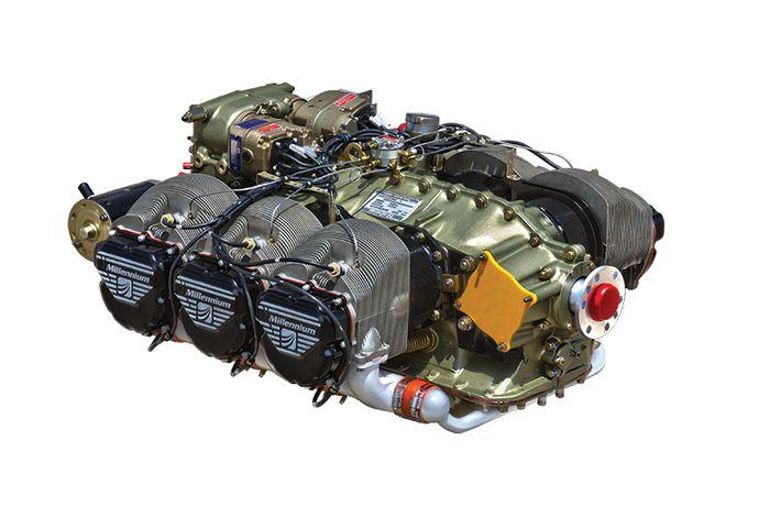 CONTINENTAL IO-550-B Aircraft Piston Engine for sale Waco