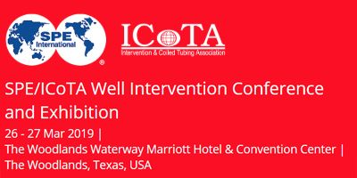 SPE/ICOTA Well Intervention Conference & Exhibition