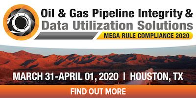POSTPONED - Oil & Gas Pipeline Integrity & Data Utilization Solutions for Mega Rule Compliance 2020