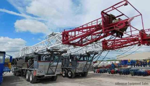 CROWN WTD-350 Well Service | Workover Rigs, Drilling Rigs